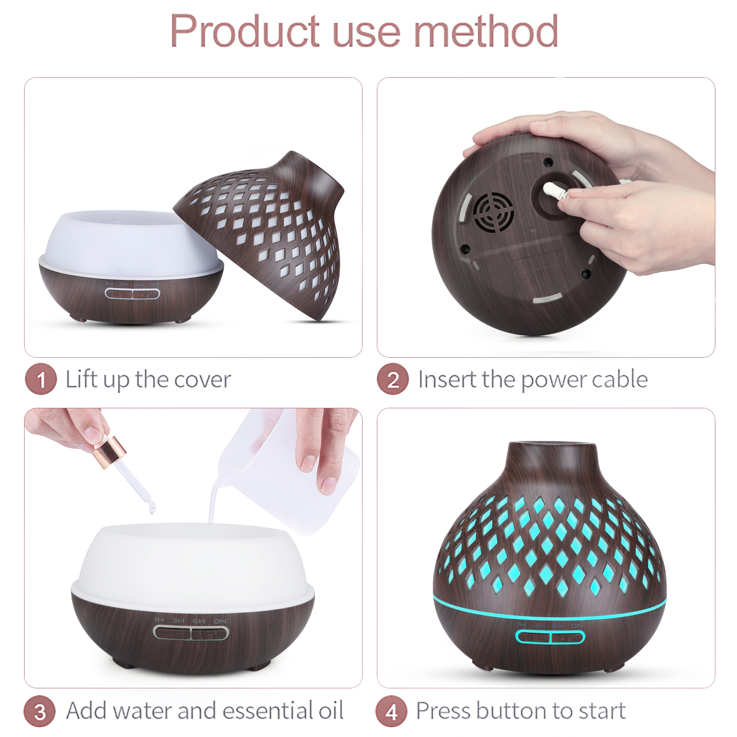 Grenade aromatherapy diffuser